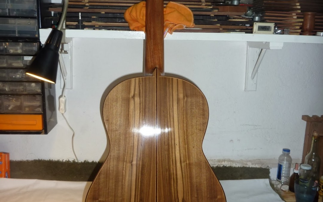 Guayubira guitar